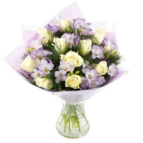 Caresse Fleur Pastel Bouquet Et Livraison Fleurs