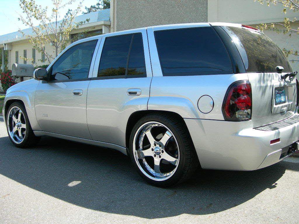 22 inch wheels - Chevy TrailBlazer | Cars | Pinterest | Chevy ...