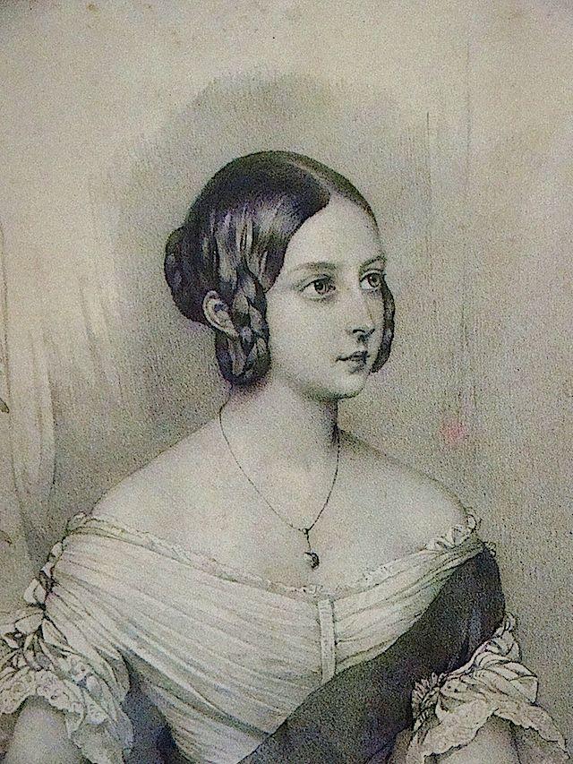 1841 Queen Victoria from Steve Conrad archive