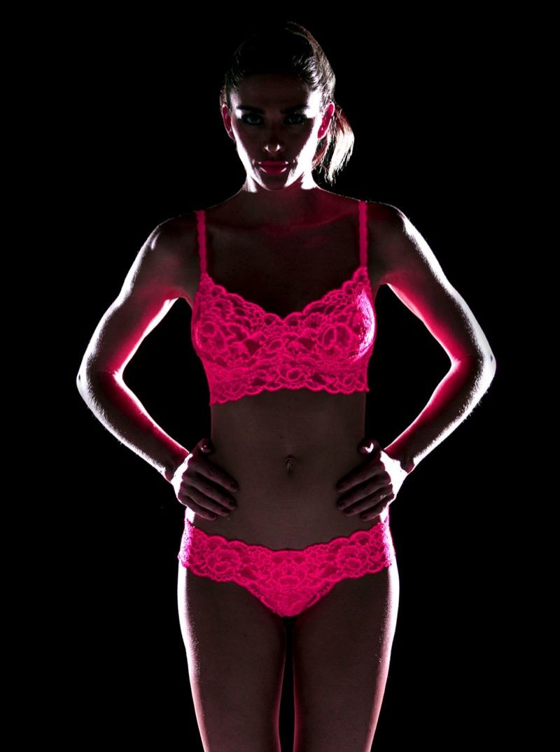 "c22cf77c62 Italian brand Cosabella has released a new line of underwear that glows in  the dark. Simply entitled ""Glow"""