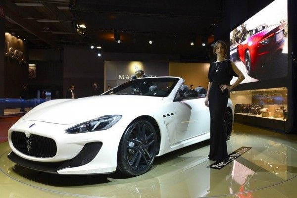 """The international spotlight of the Paris Auto Show – where Maserati is introducing the new GranCabrio MC – is the perfect setting to announce the names of the three much awaited future Maserati products, the models that will give Maserati a completely new scope to 50,000 units per year by 2015."