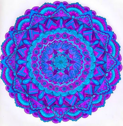Bildergebnis Fur Mandala Blumen Bunt Flower Mandala Flower Rangoli Mandala