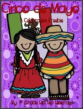 Cinco De Mayo A Celebration Freee Dibujo De Escuela Colores