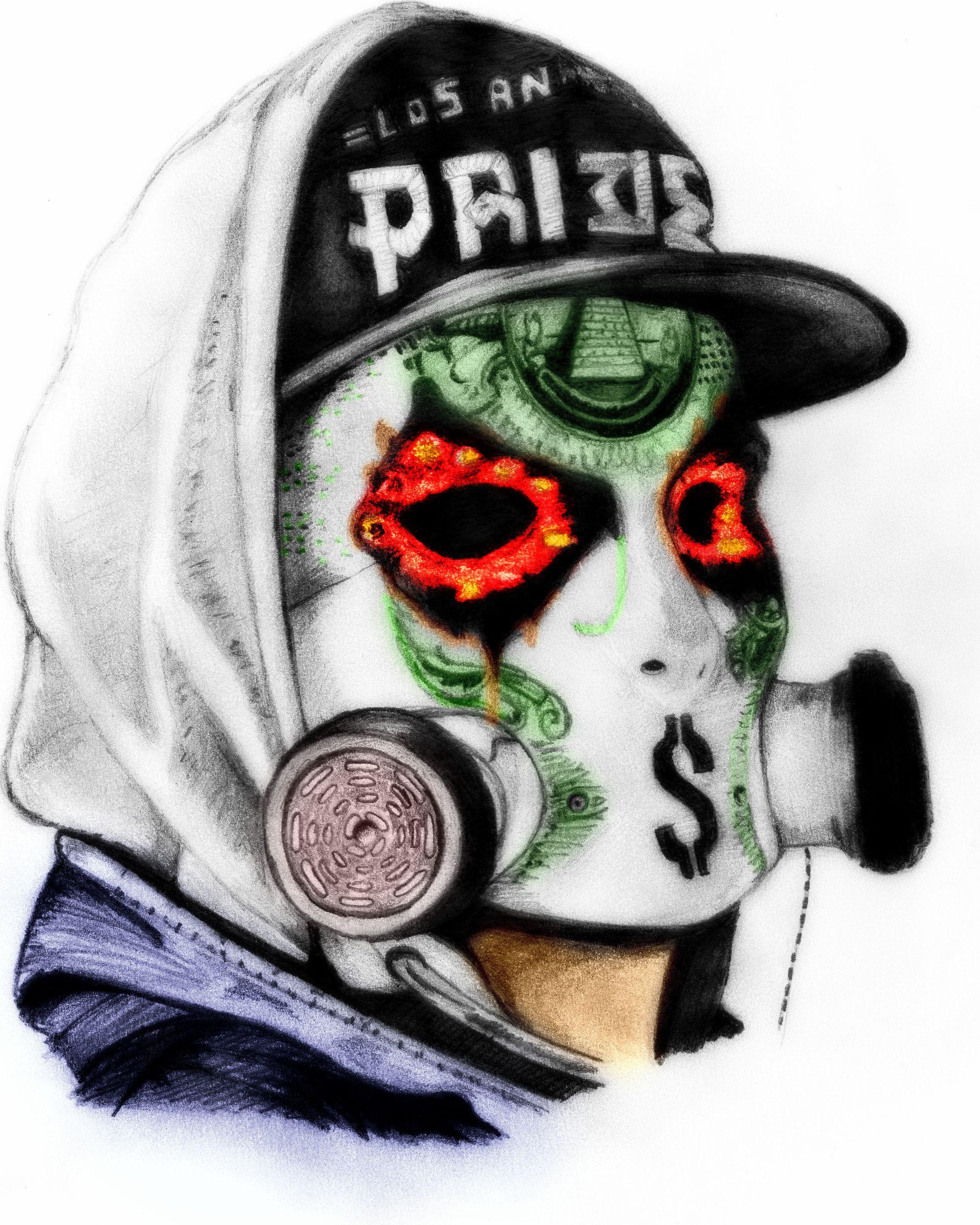 hollywood undead j dog gas mask wwwpixsharkcom