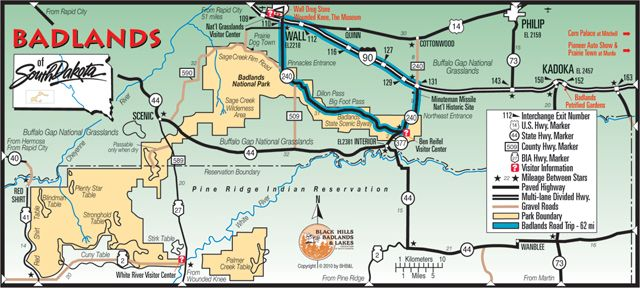 Suggested Itineraries and Destinations Badlands South Dakota