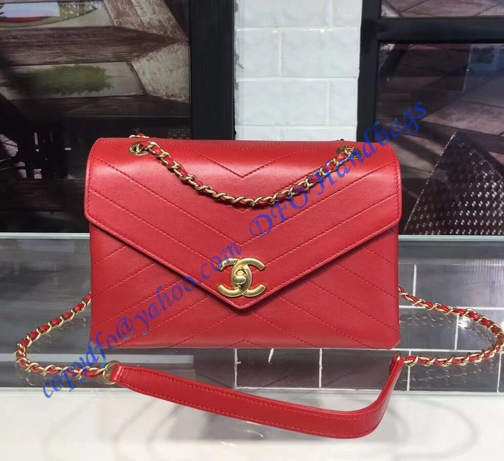 Chanel Envelope Flap Bag Red Chanel Handbags Chanel Handbag Boy Flap Bag