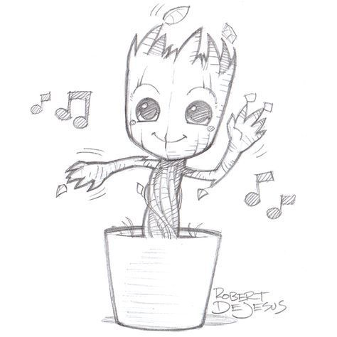 Dancing Groot by Banzchan.deviantart.com on @deviantART #shirtsale