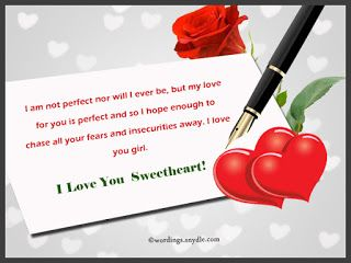 Sweetest love messages for her 2018