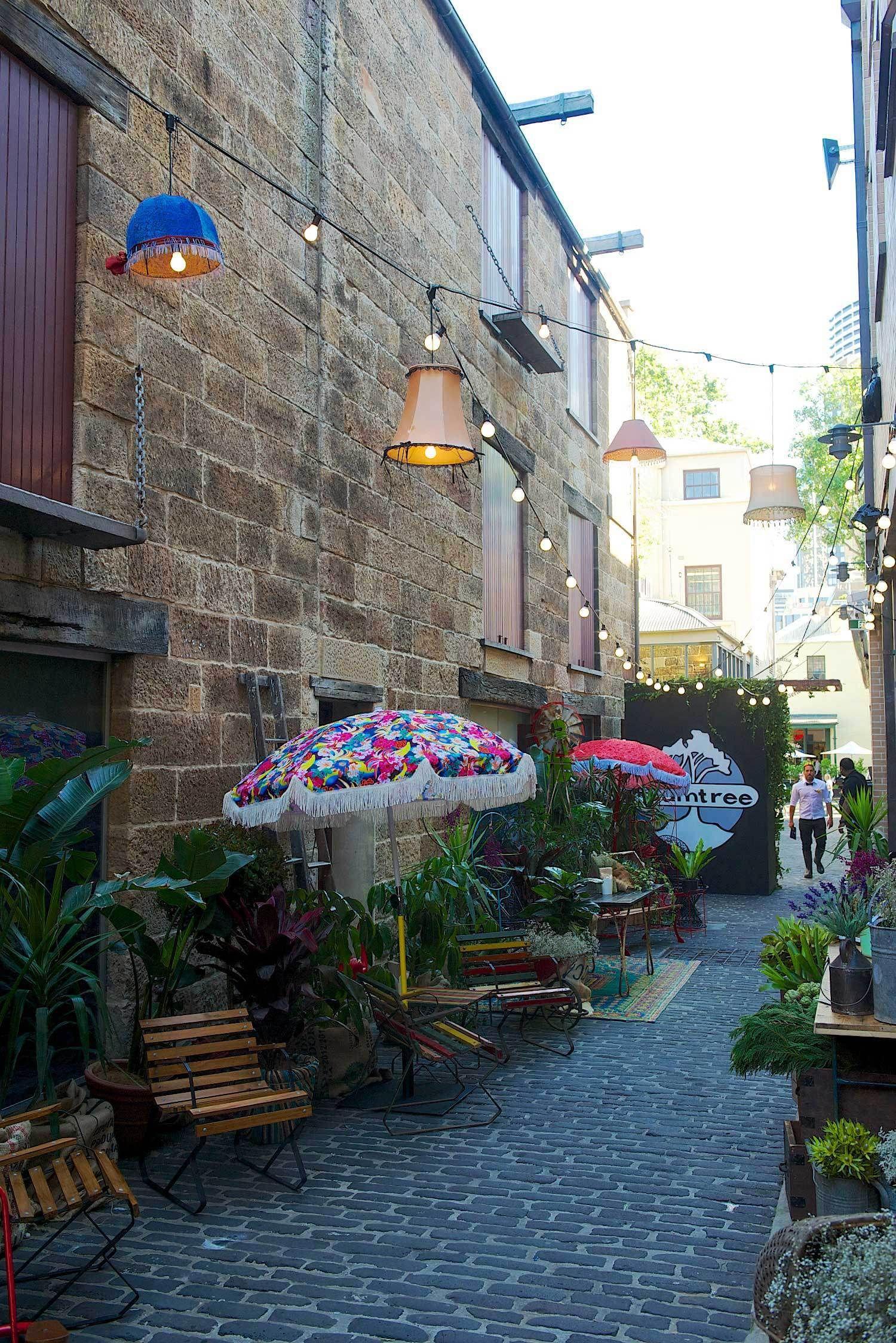 Gumtree Garden Pop Up Bar By Yellowtrace Pop Up Bar Pop Up Cafe Pop Up