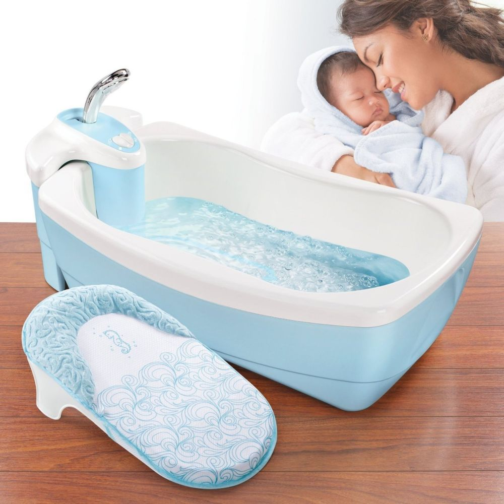 Ebay #Infant #Bubbling #Spa #Shower #Newborn #Toddler #Tub #Washing ...