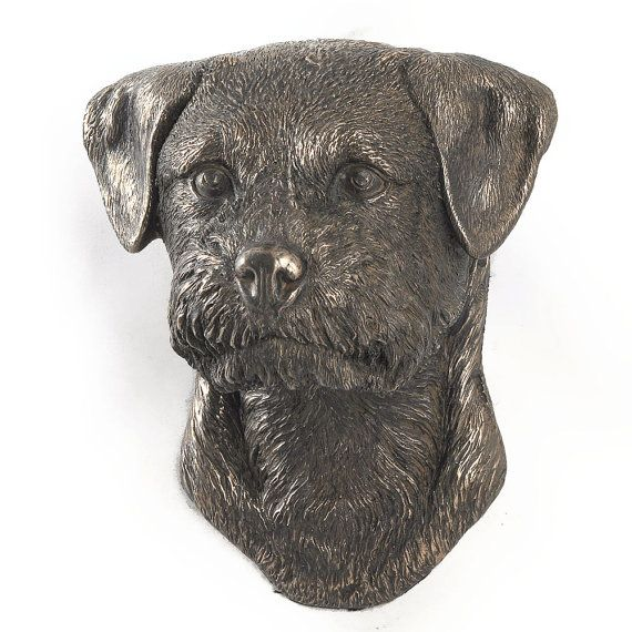 Border Terrier dog hanging statue limited by ArtDogshopcenter