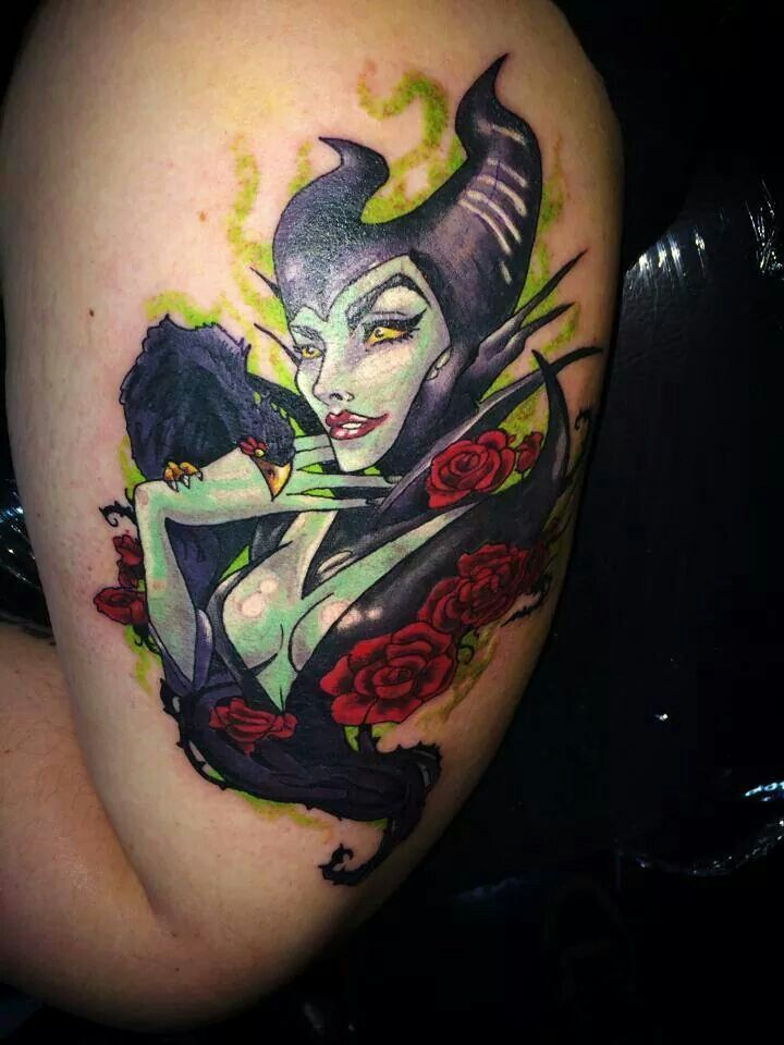 Tattoo Maleficent Tattoo Hot Maleficent Nerd Tattoo Factors