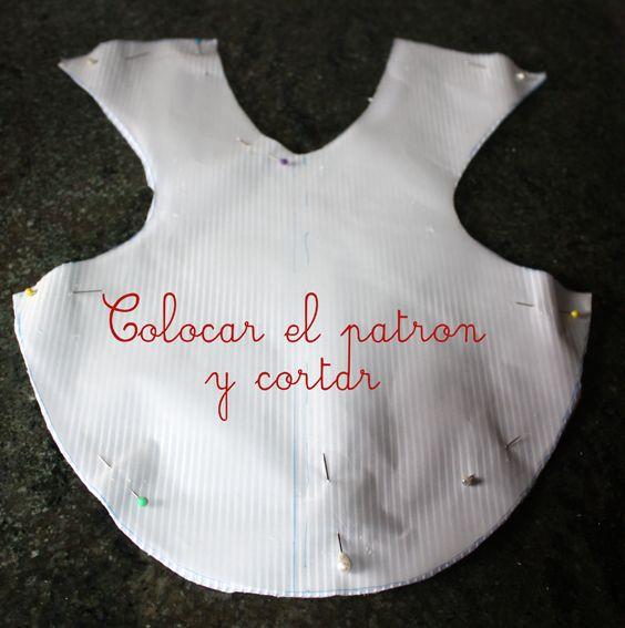 babero | 04-baberos | Pinterest | Bebe, Bebé y Costura