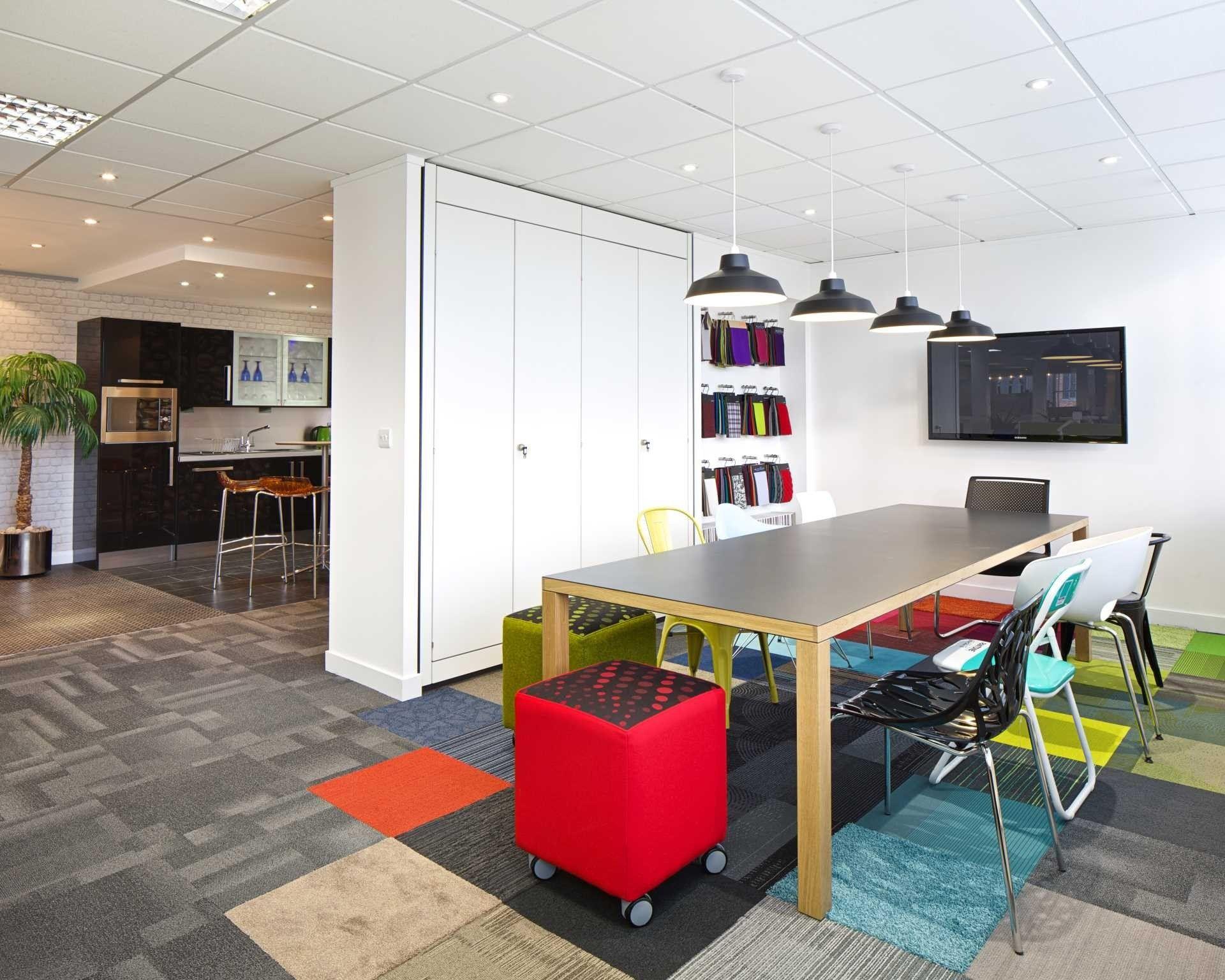 Modern Industrial Office Design Workspaces  Beautiful Modern Industrial Office