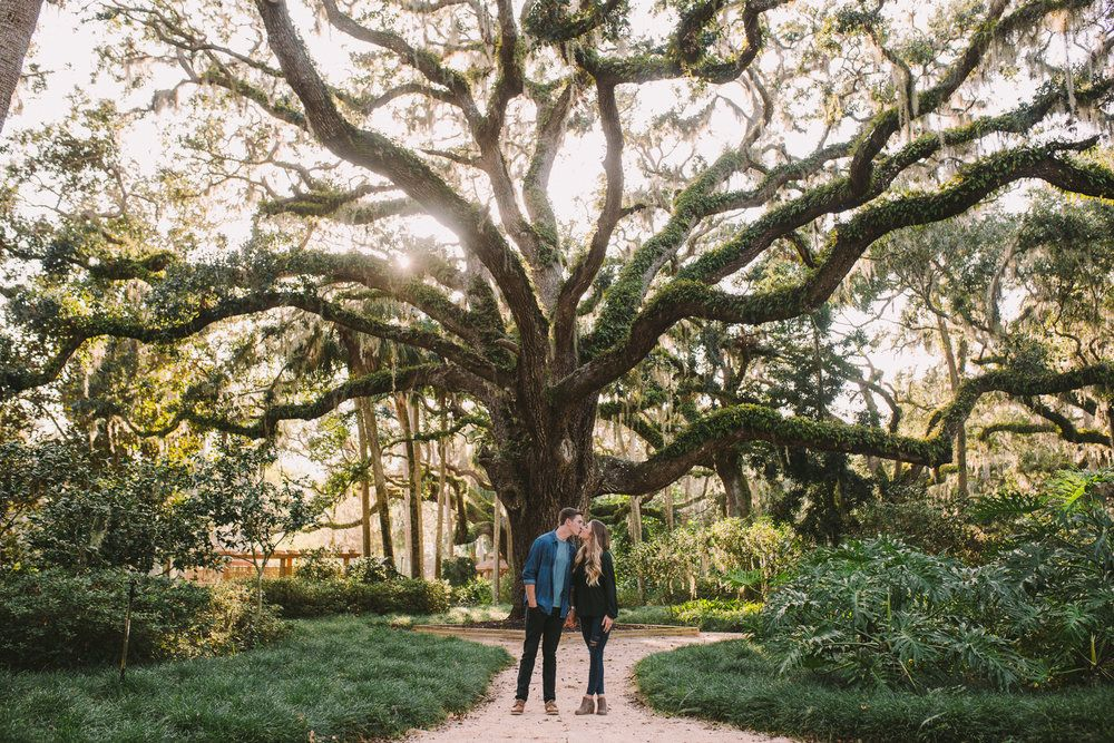Washington Oaks Gardens State Park Wedding