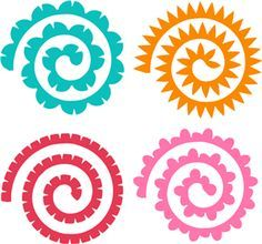 Download Silhouette Online Store: assorted quilled flowers | Flower ...