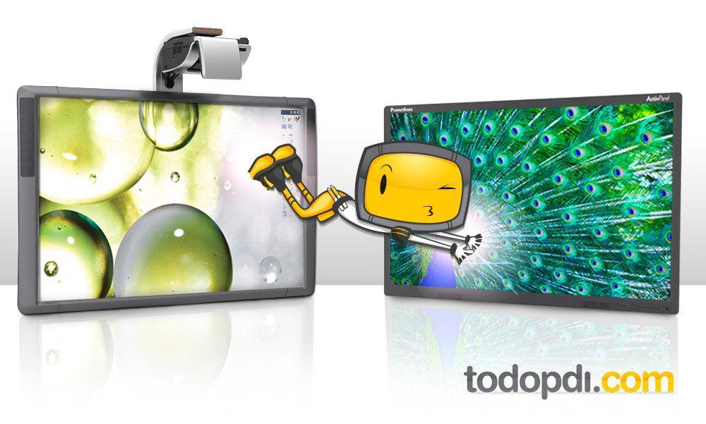 Corta Distancia Altavoces//Autoamplificables//Potencia 40W //Anclaje a Pared.+ Instalaci/ón Completa HDMI//VGA Proyector OPTOMA XGA X305ST Pizarra Electr/ónica Interactiva Promethean ABT78D Touch
