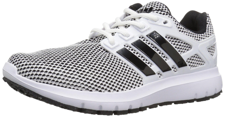 adidas Performance Mens Energy Cloud m Running Shoe White/Black ...