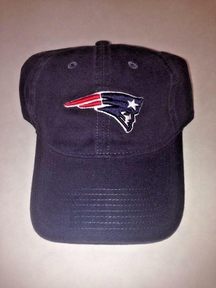7dd8900d Details about New England Patriots REEBOK Hat Cap - Blue - Super ...