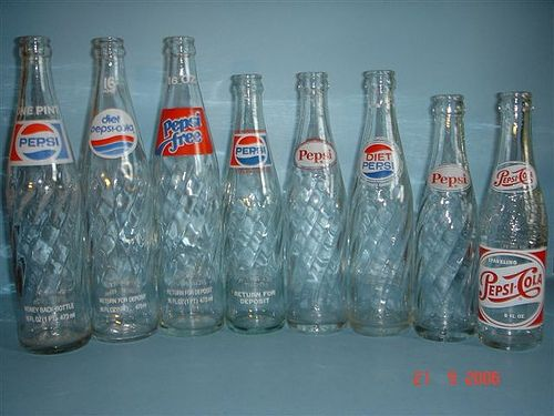 vintage pepsi bottle dates