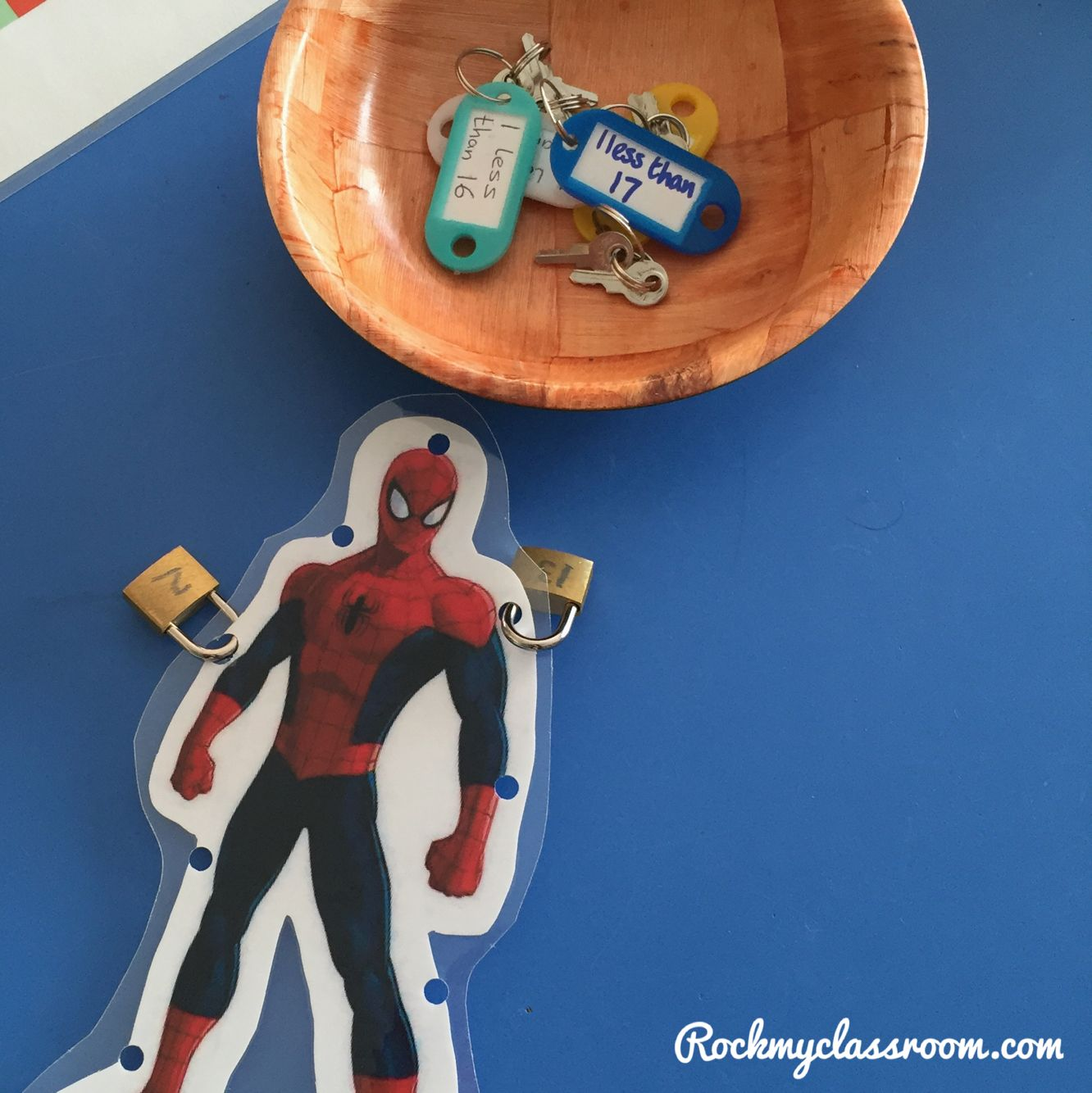 Free The Superheroes By Unlocking Their Padlock With The