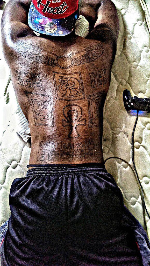 Marik ishtar back piece done by kim at classic tattoo in for Marik ishtar tattoo