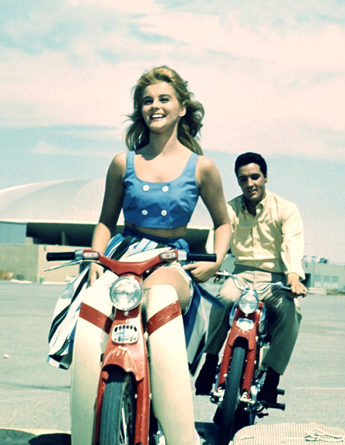 Elvis and Ann Margret