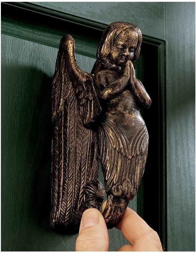 Balinese Winged Mermaid Door Knocker Mermaid Door Knocker Door