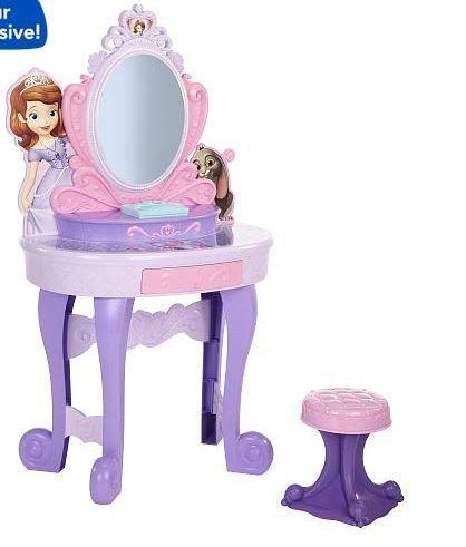 Tocador para nina de princesa sofia fiesta princesa - Tocador madera nina ...