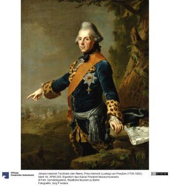 Prinz Heinrich (Ludwig) von Preußen (1726-1802)