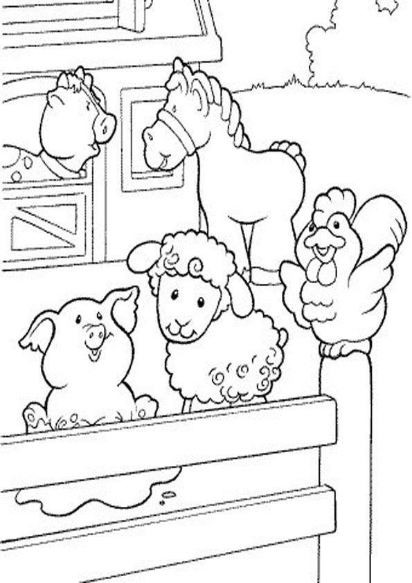 Bauernhof Kostenlose Ausmalbilder Zeichnung Bauernhof Malvorlagen Malvorlagen Tiere Ausmalbilder