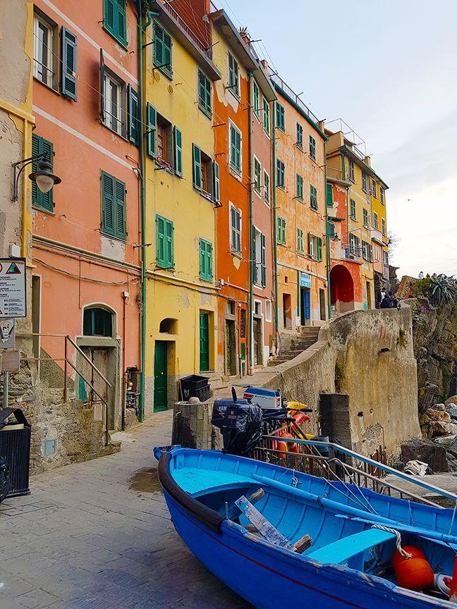 Cinque Terre, Italy | Paige Taylor Evans