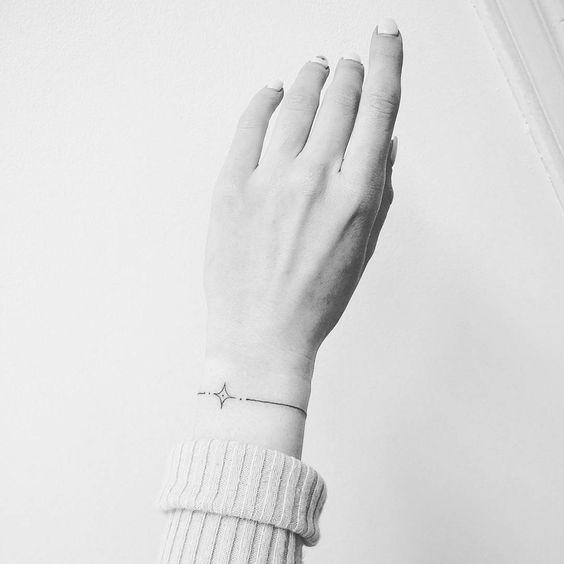 Tattoo handgelenk frau armband