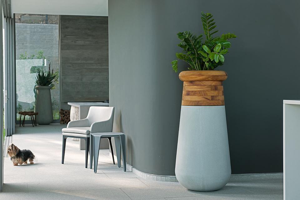 Pin Kalyn Crosier Design Planters Concrete Color African