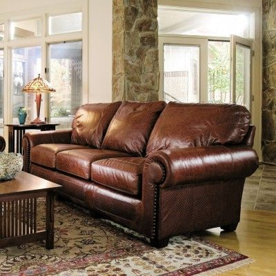 Stickley S Santa Fe Sofa Toms Price Home Furnishings Stickley Furniture Living Room Furniture Styles Living Room Leather