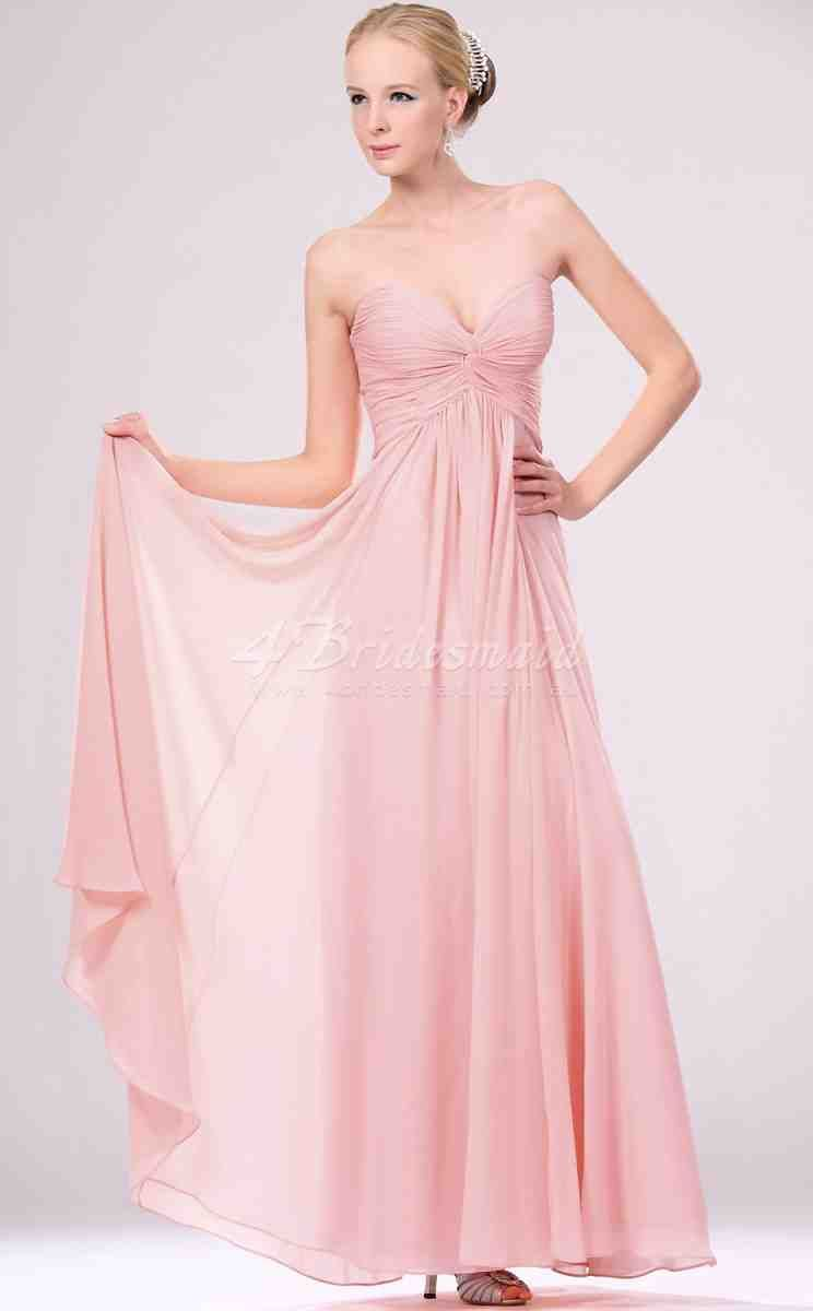Long Pink Bridesmaid Dresses | long bridesmaid dresses | Pinterest