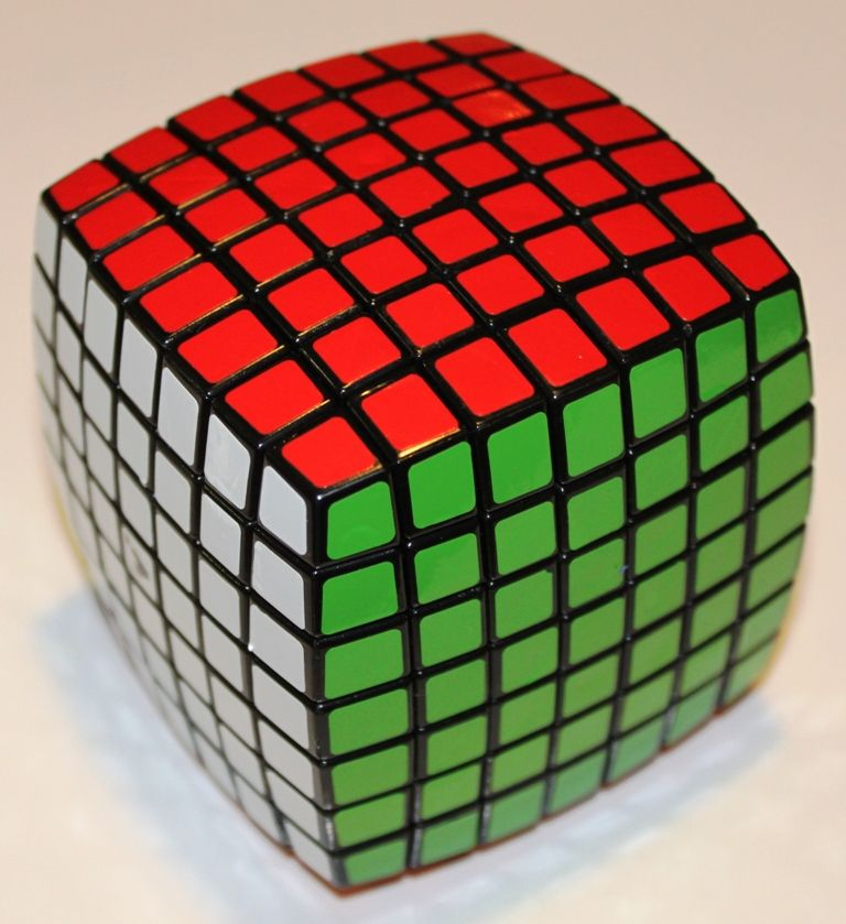 pillowed 7x7x7 cube by v cube