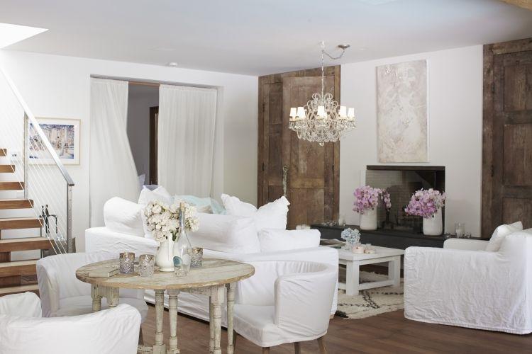 Shabby Chic im Wohnzimmer - 55 Möbel und Deko Ideen | Shabby chic ...