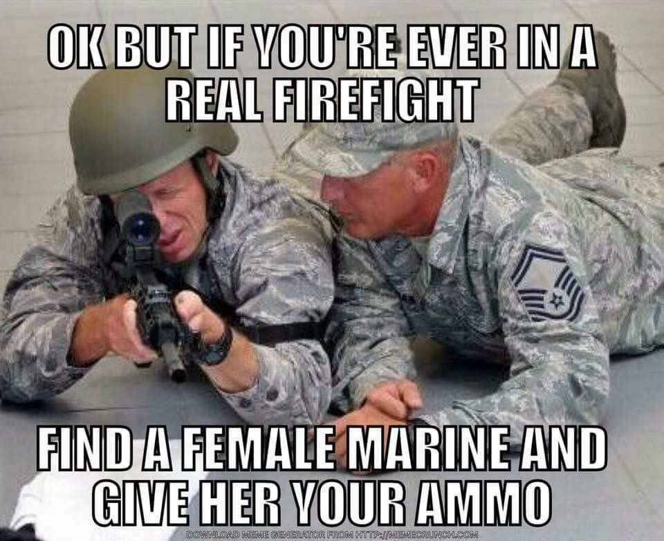 air force vs female marines military meme war pinterest air
