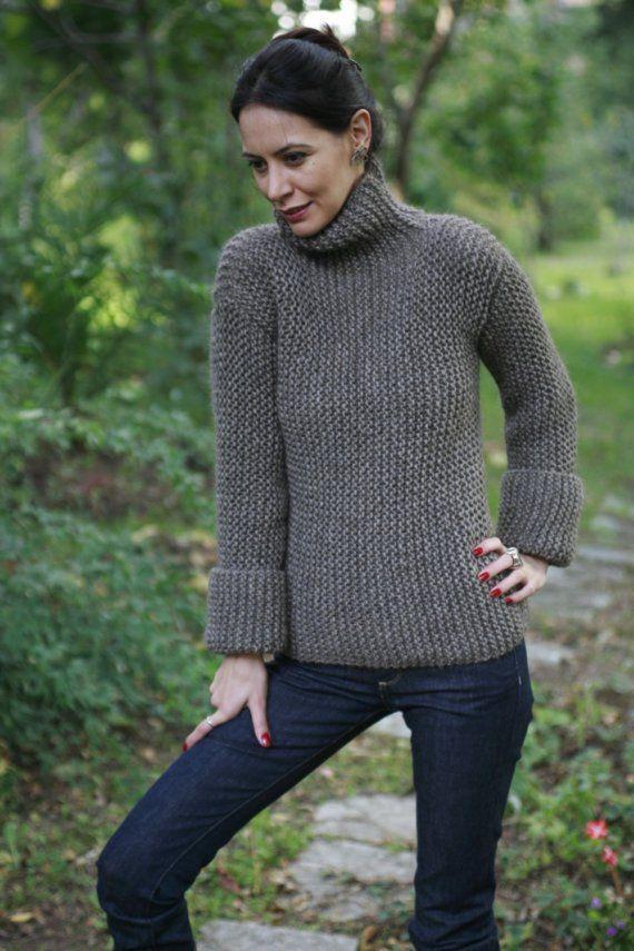 BOYFRiEND'S SWEATER by NihanAltuntas on Etsy | I'm knitting ...