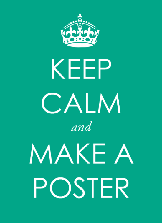 how to use scribus to make a poster