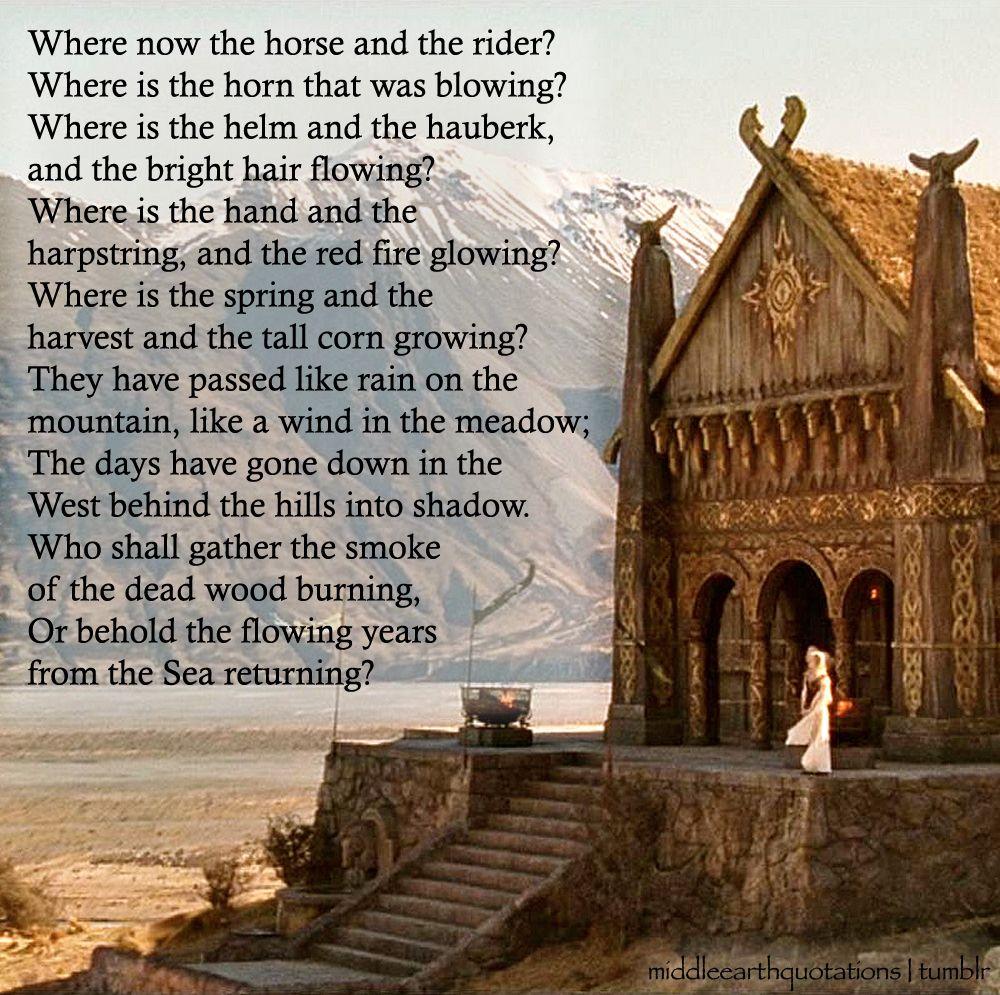20+ Aragorn poem information