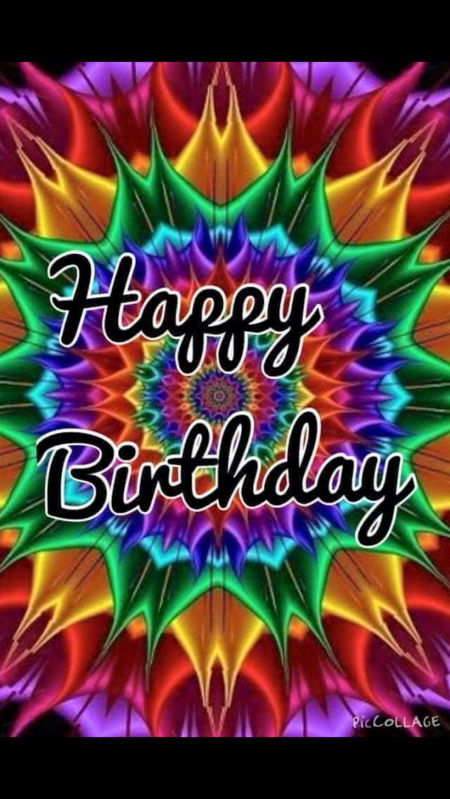 tie dye h b day birthday greetings birthday wishes happy