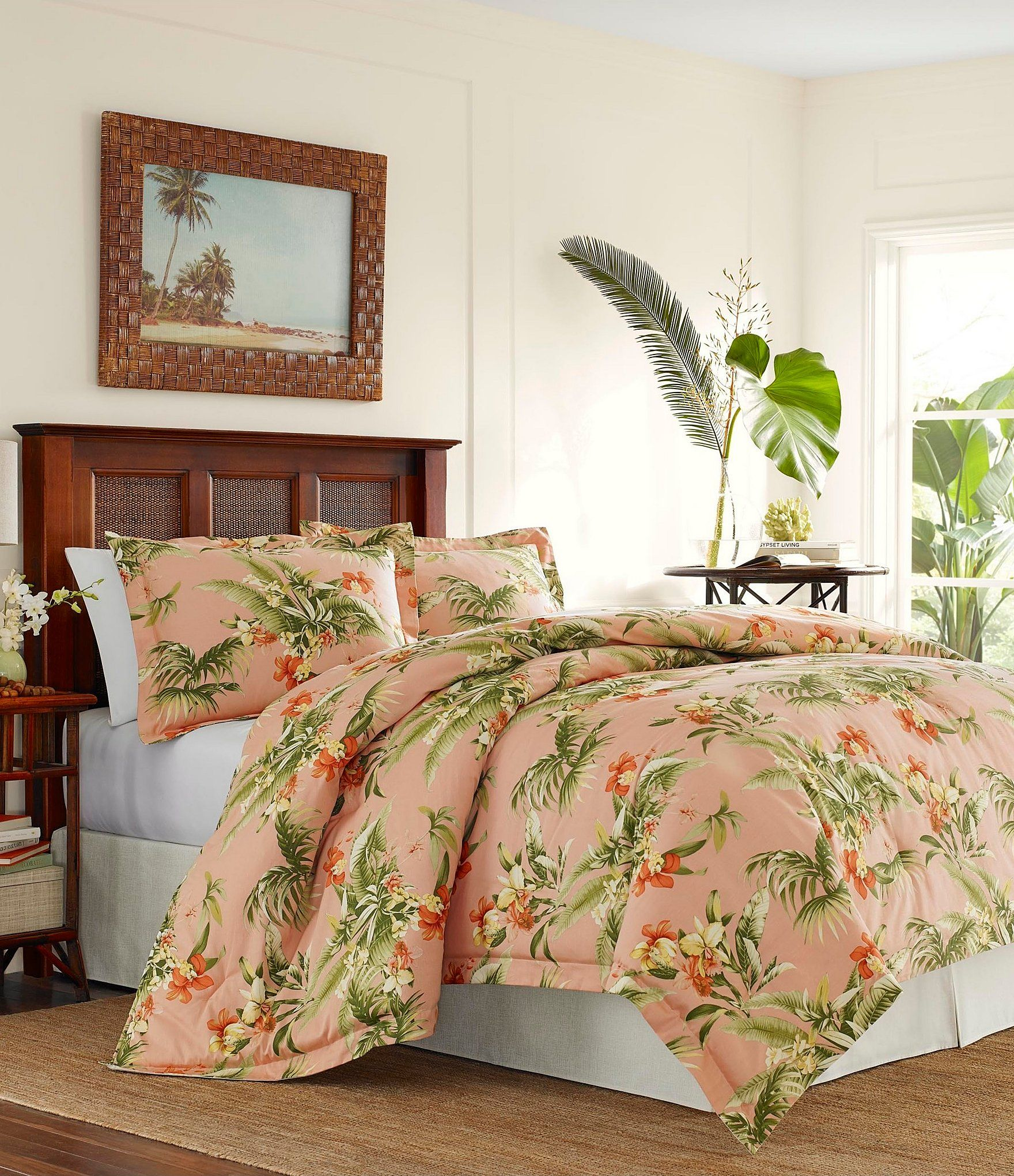 Tommy Bahama Siesta Key Duvet Mini Set In 2020 Comforter Sets