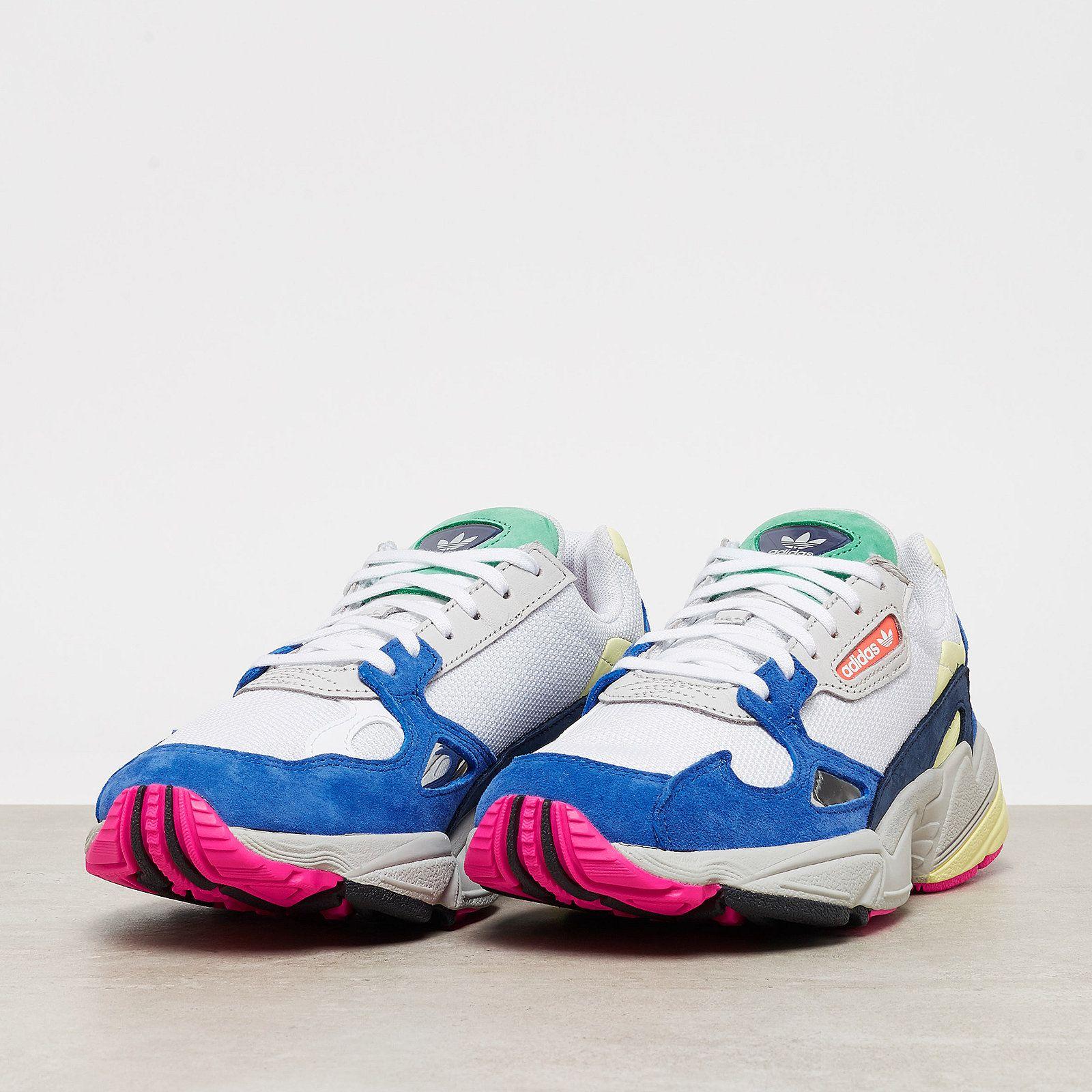 adidas Originals Schuh Falcon W Ftwr White Ftwr WhiteBlue
