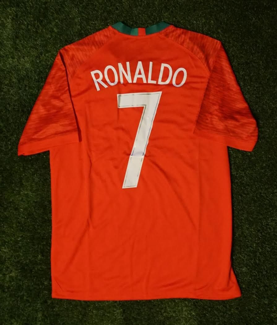 size 40 9b3f8 59ee8 Portugal Home Shirt - Ronaldo #7 - FIFA World Cup 2018 ...