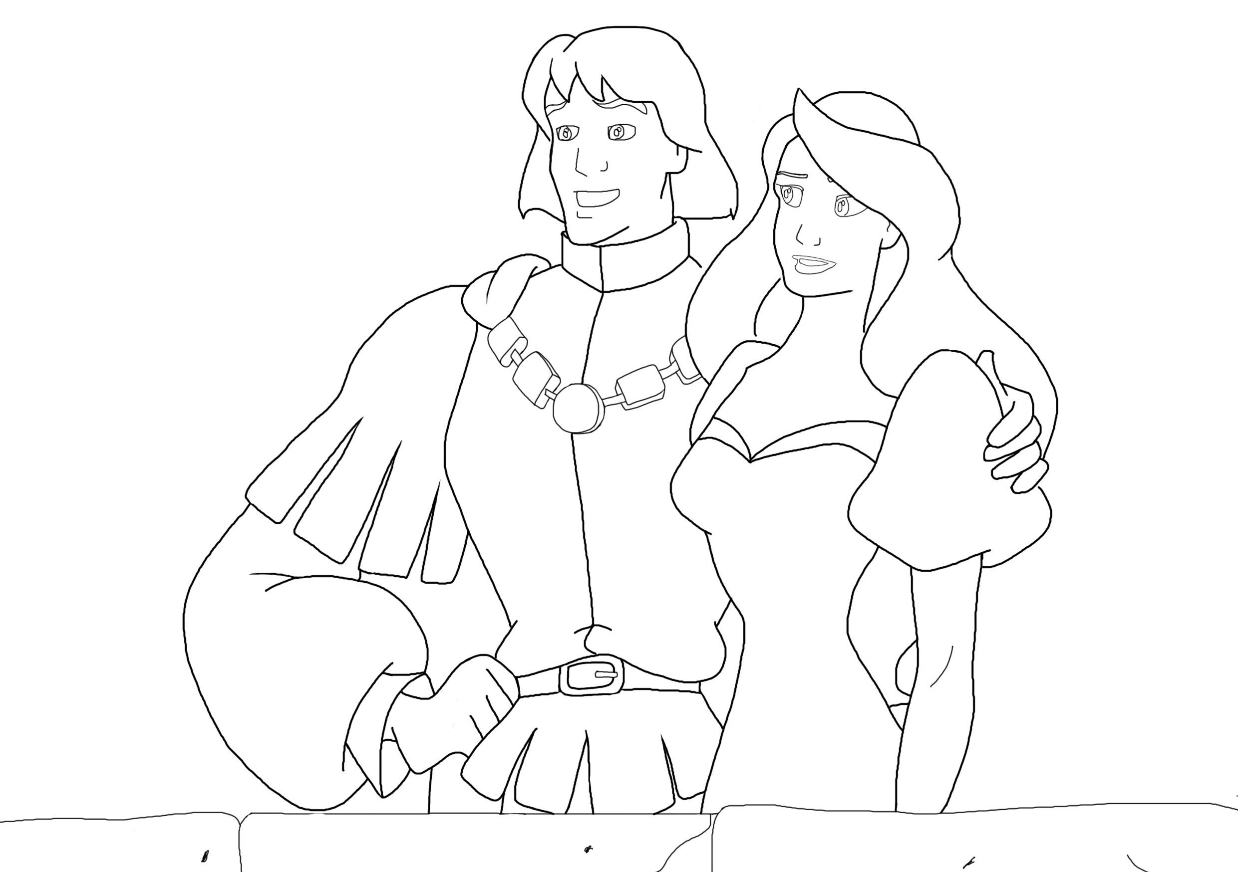Swan Princess Coloring Pages For Kids And For Adults Princess Coloring Pages Princess Coloring Swan Princess