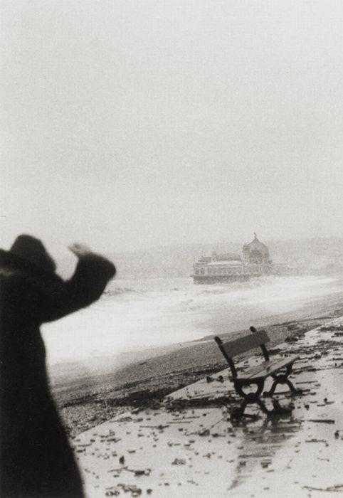Tempête à Nice en février (Storm in Nice in February) (detail) (1925) – Jacques Henri Lartigue