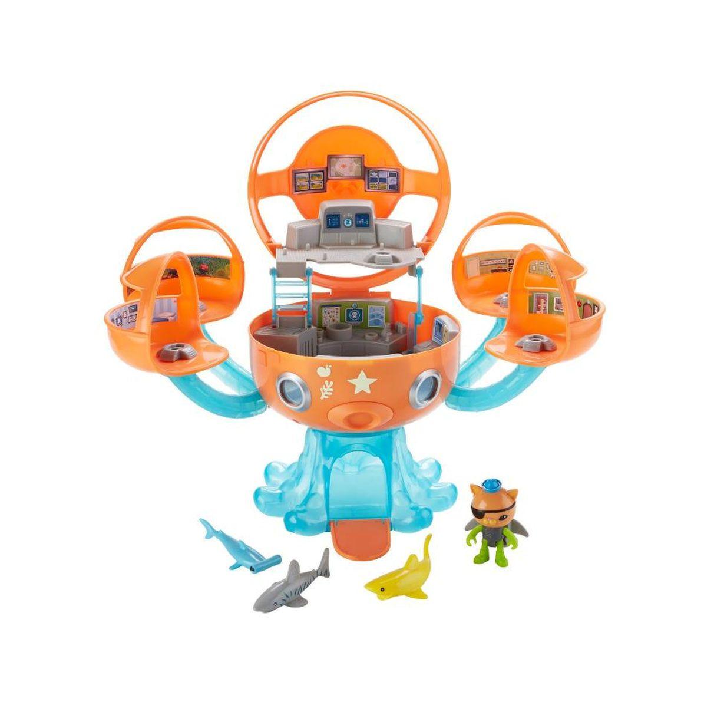Fisher-Price Disney Junior Octonauts Octopod Shark Adventure Playset ...