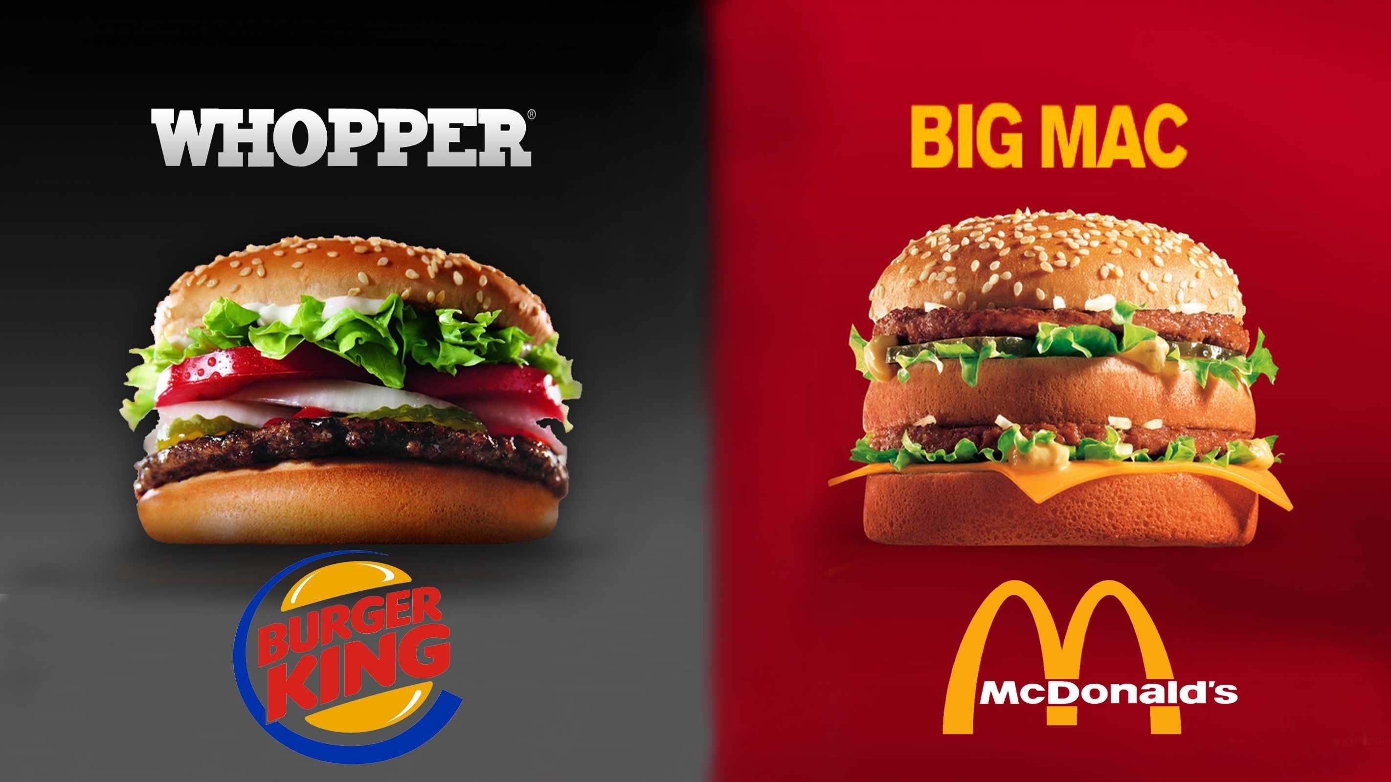 whopper vs big mac survey
